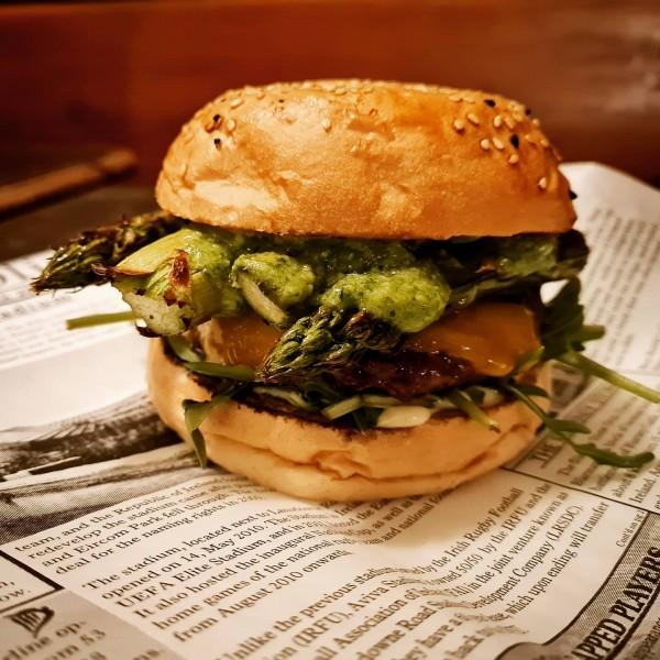 Springtime Burger